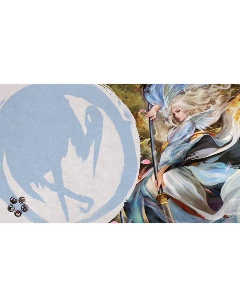 Fantasy Flight Games Legend Of The Five Rings: Left Hand of the Emperor Playmat