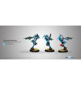 Corvus Belli Crusader Brethren (MULTI Rifle + Light FT)