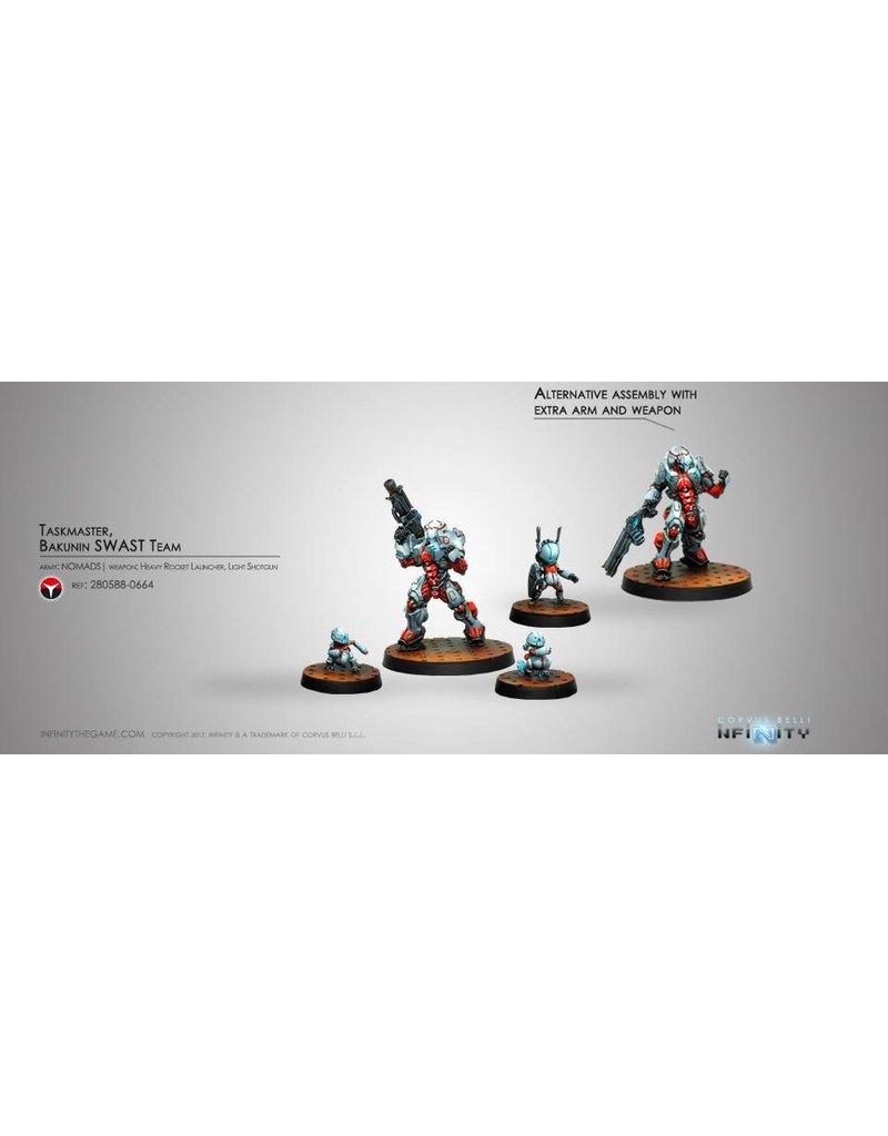 Corvus Belli Nomads Taskmaster, Bakunin SWAST Team Box Set