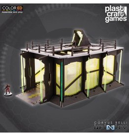 Plastcraft Industrial Garage (large sci-fi playable centre piece)