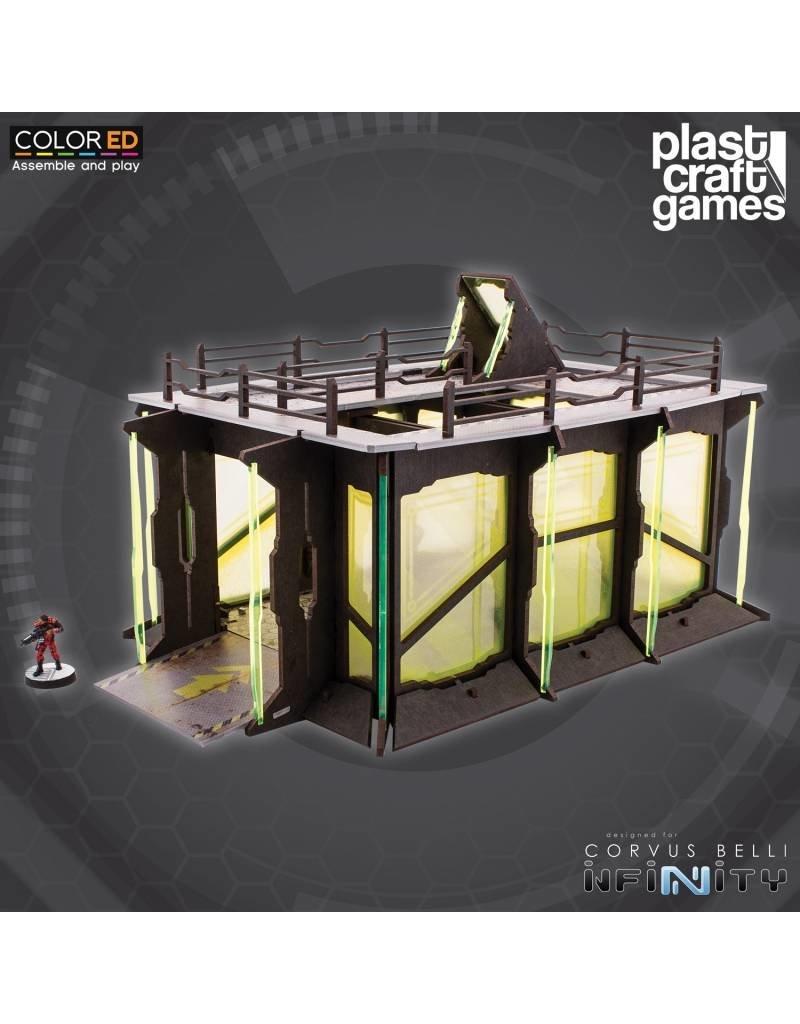Plast-Craft Industrial Garage (large sci-fi playable centre piece)