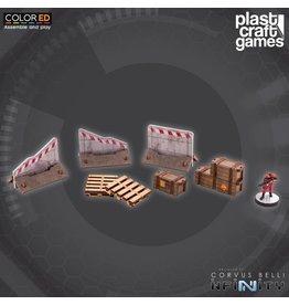 Plast-Craft Industrial Props (Crates, Pallets, roadblocks)