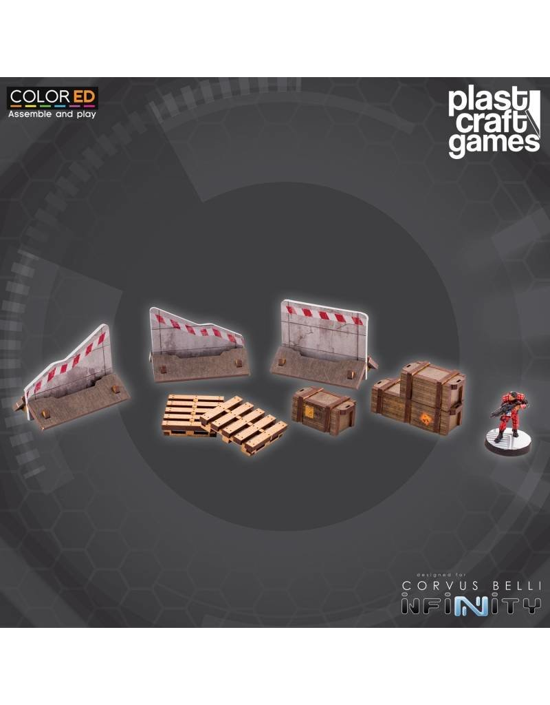 Plastcraft Industrial Props (Crates, Pallets, roadblocks)