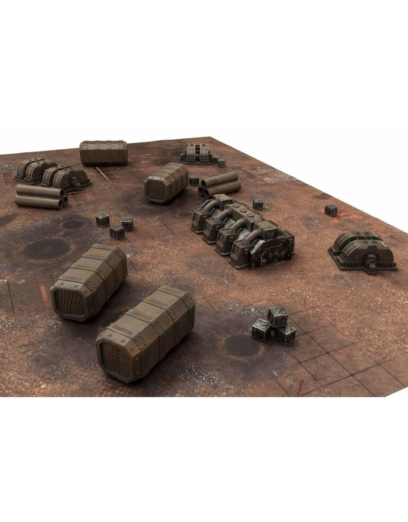 Game Mat Industrial set