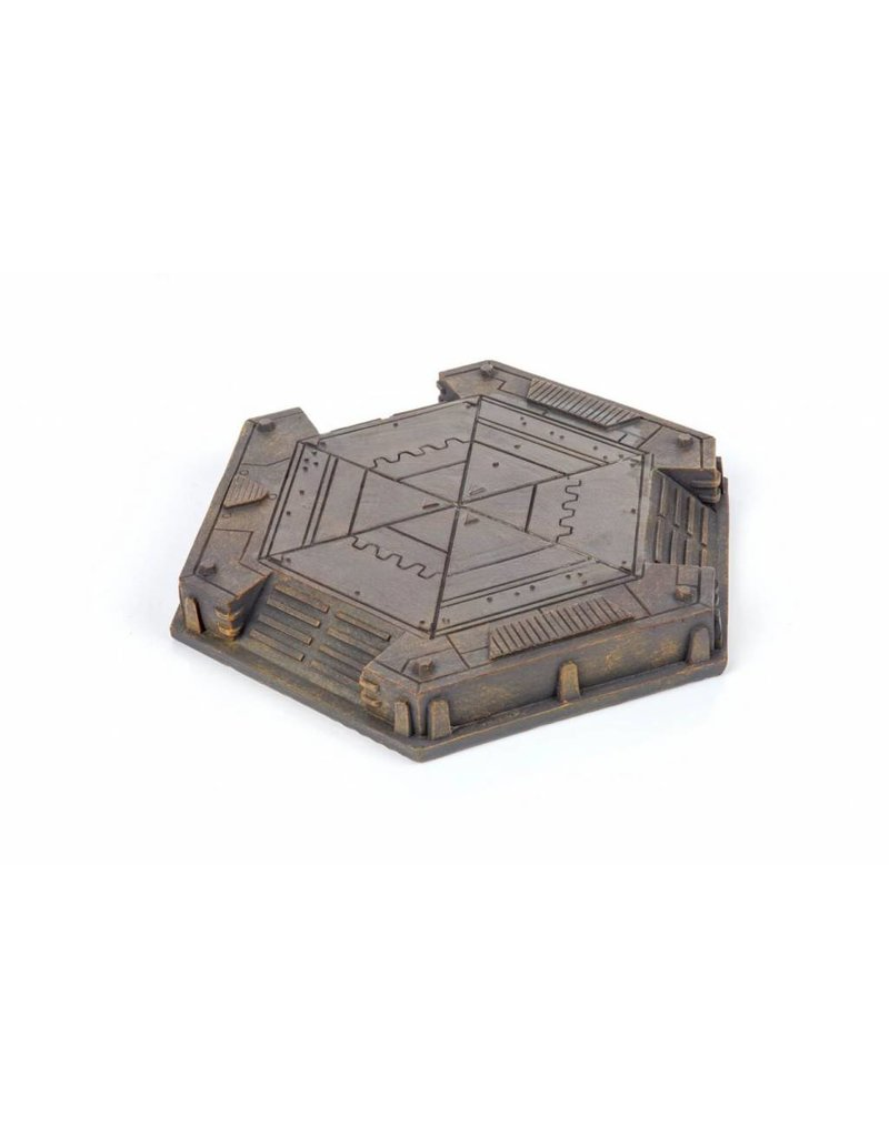 Game Mat Industrial Landing Pad