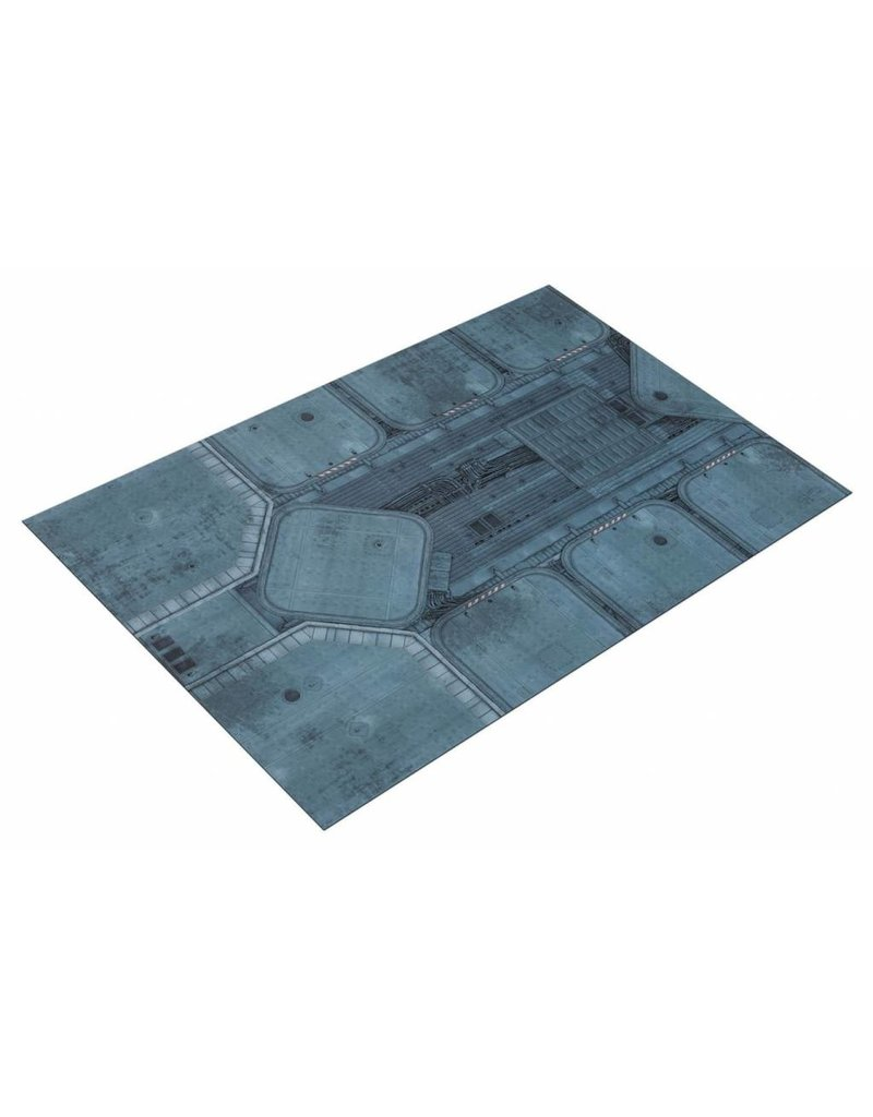 Game Mat 6'x4' Double Sided G-Mat: Fallout Zone and Imperial Base