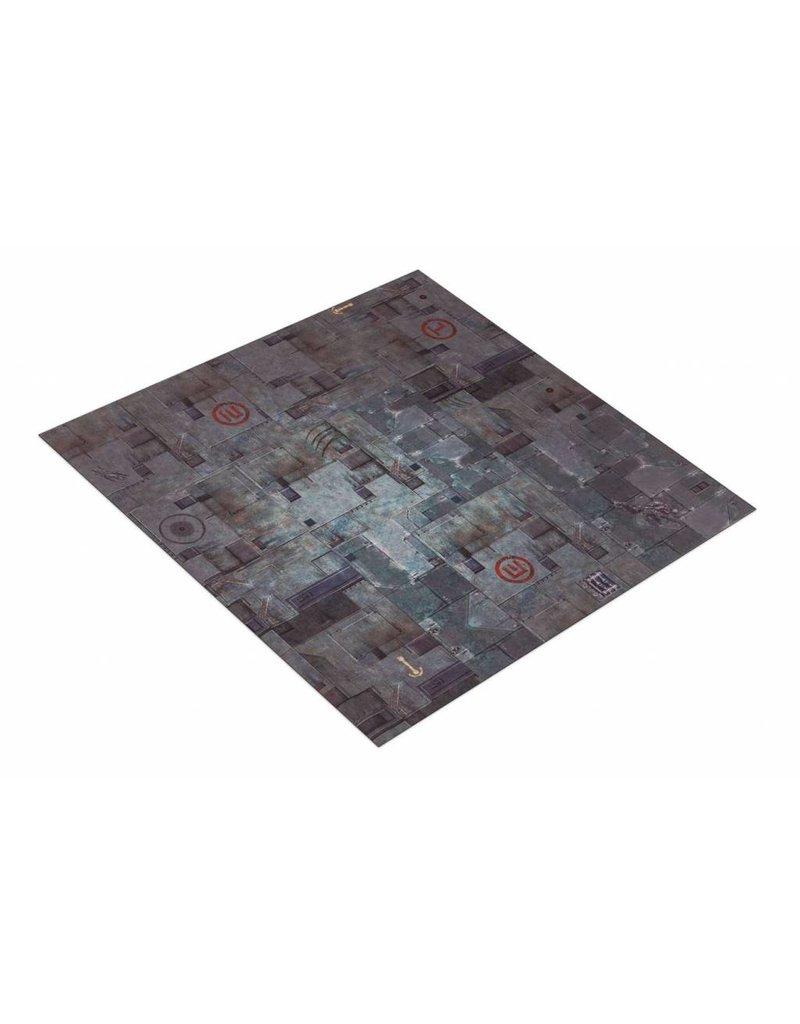 Game Mat 4'x4' G-Mat: TriCity