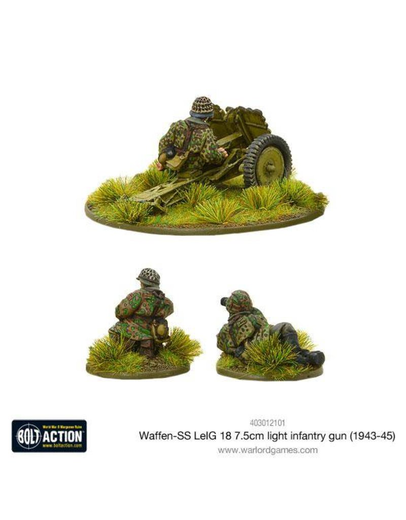 Warlord Games German Waffen-SS LeIG 18 7.5cm light infantry gun