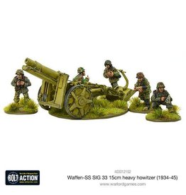 Warlord Games Waffen-SS SIG 33 15cm heavy howitzer