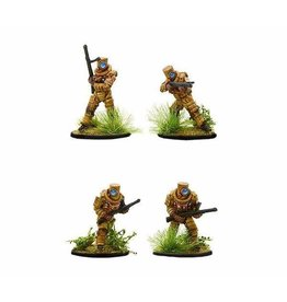 Warlord Games Japanese Ghost warriors with SMG's