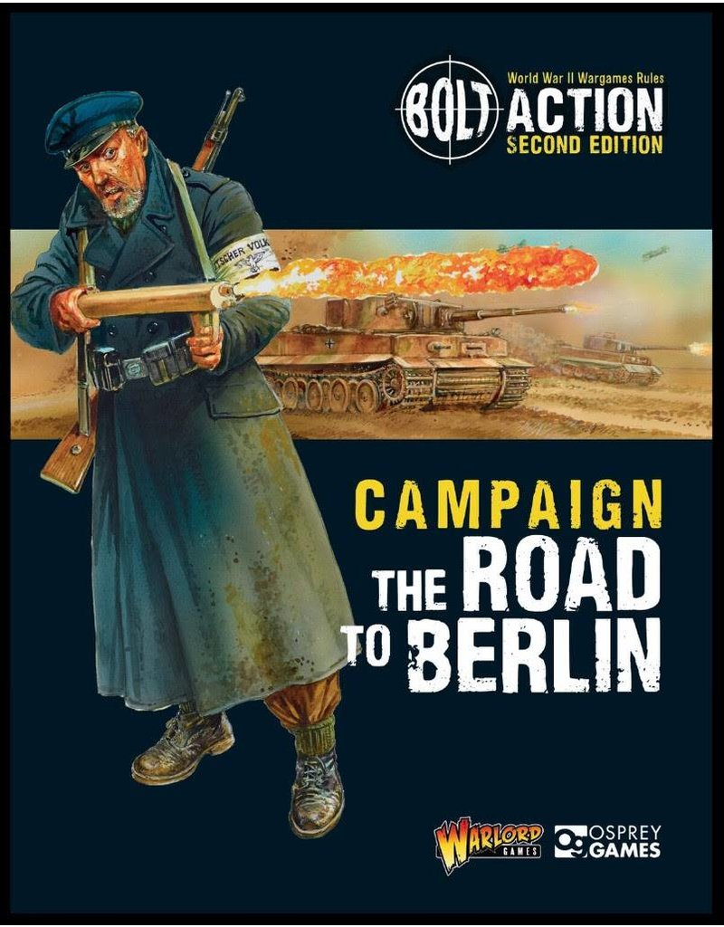 Warlord Games The Road to Berlin Supplement Rule Book