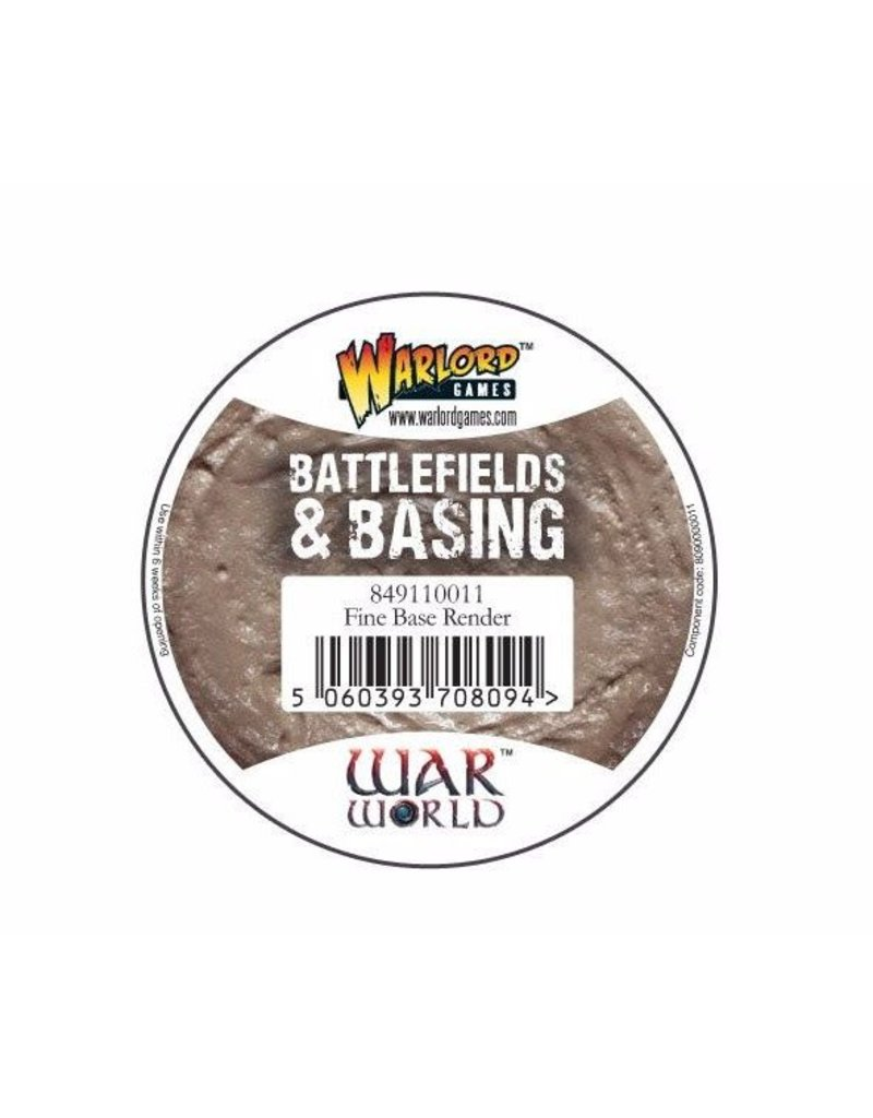 Warlord Games Fine Base Render