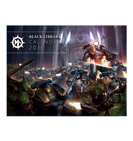 Games Workshop Black Library Calendar 2018