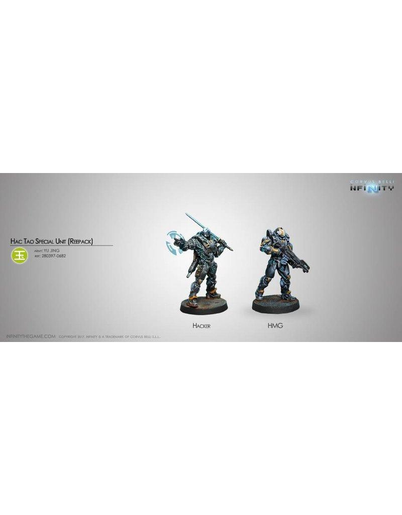 Corvus Belli Yu Jing Hac Tao Special Unit (Hacker / Hmg) - Repack Blister Pack