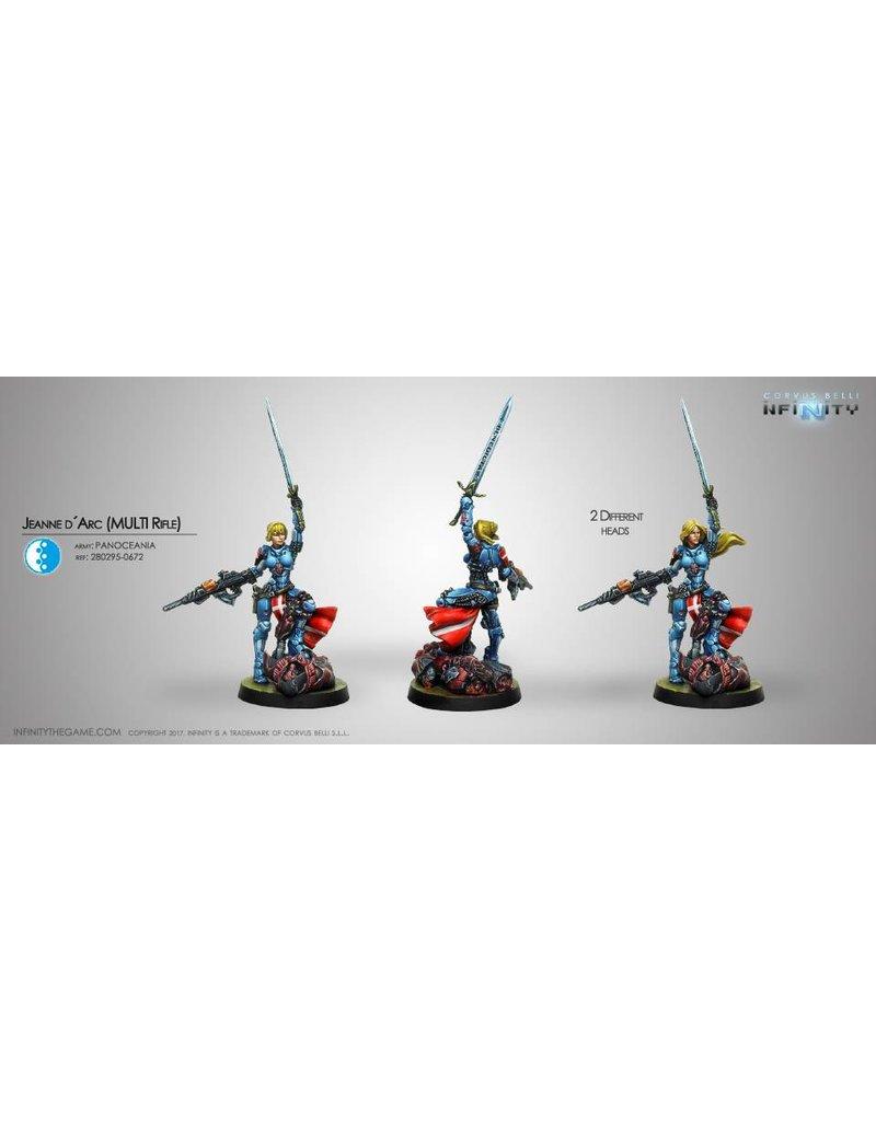 Corvus Belli Panoceania Jeanne D´Arc (MULTI Rifle) (Repack) Blister Pack