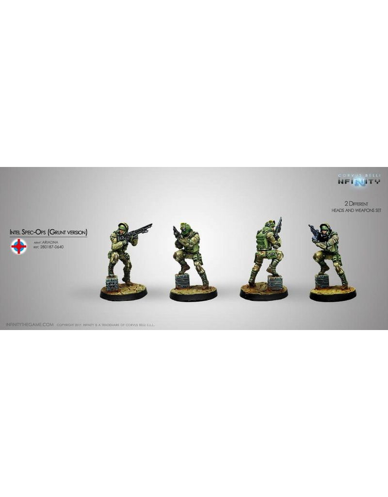 Corvus Belli Intel Spec-Ops (Grunt Version) Blister Pack