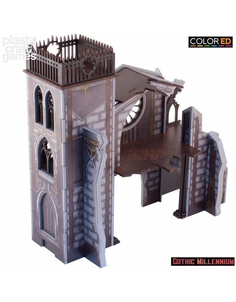 Plastcraft Portico Of Penance - (Gothic Millennium Cathedral)