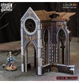 Plastcraft Cathedrals Side Porch - (Gothic Millennium Cathedral)