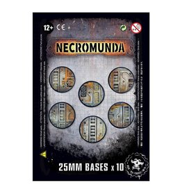 Games Workshop Necromunda 25mm Bases