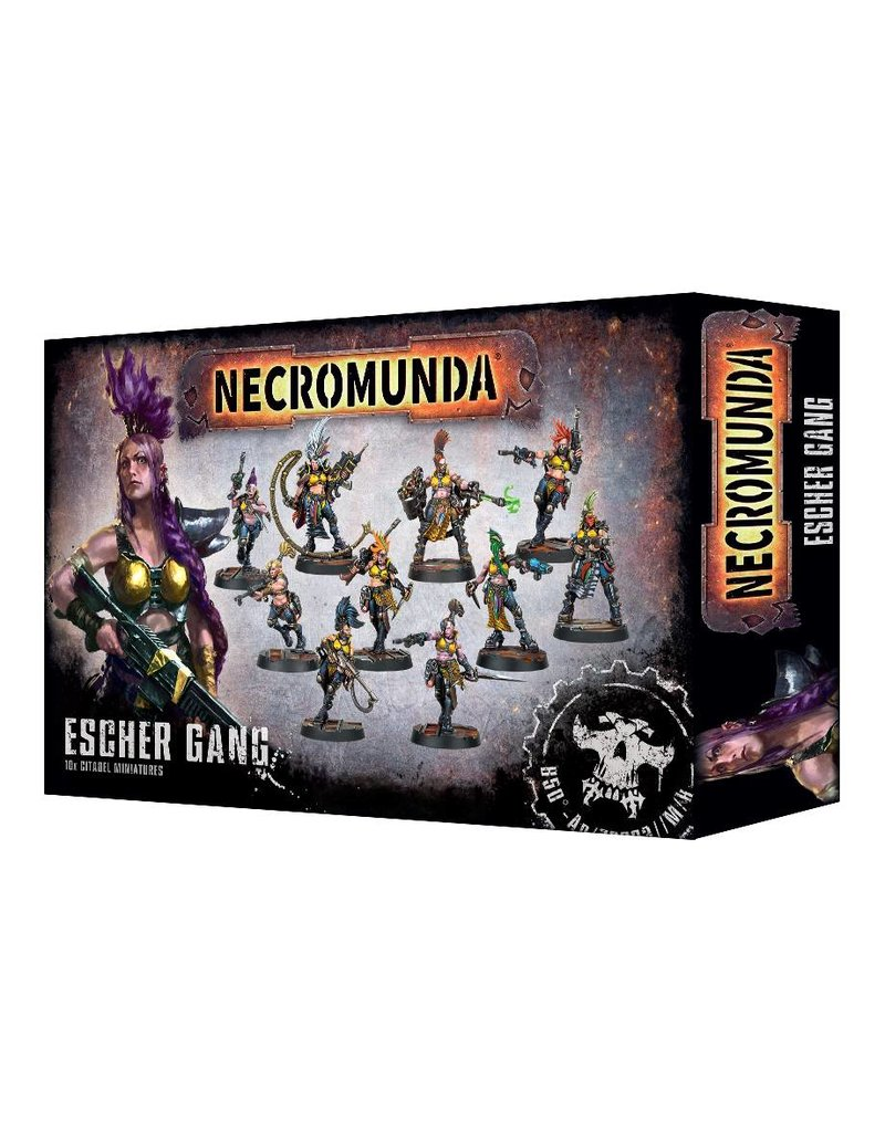 Games Workshop Necromunda House Escher Gang Set