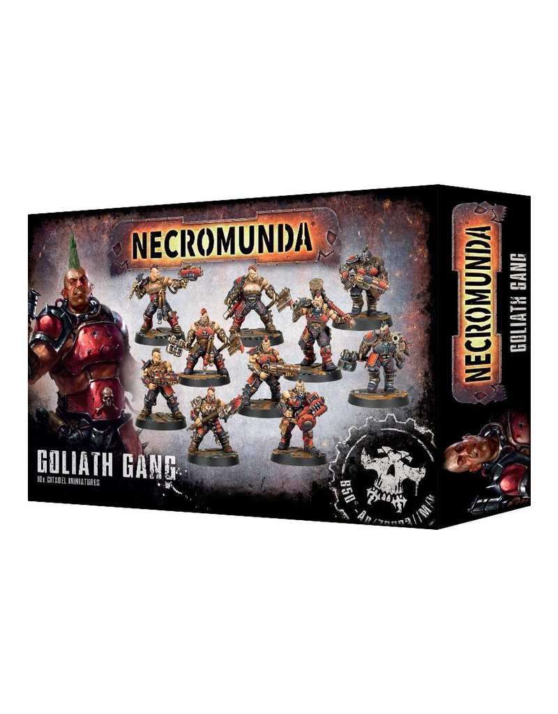 Games Workshop Necromunda House Goliath Gang Set