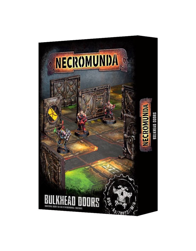 Games Workshop Necromunda Bulkhead Doors