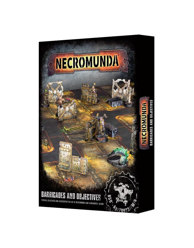 Games Workshop Necromunda Barricades And Objectives