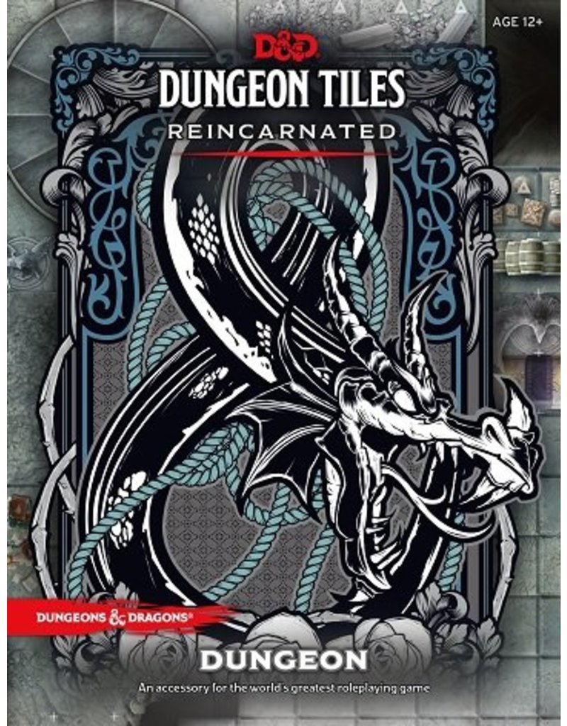 Wizards of the Coast D&D Dungeon Tiles Reincarnated: Dungeon (DDN)