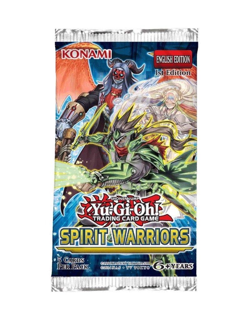 Konami Yugioh Spirit Warriors Booster Pack