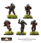 Warlord Games Algoryn Assault Squad Command