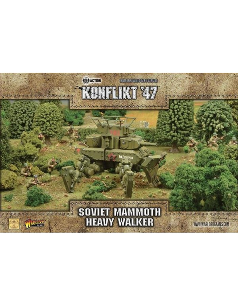 Warlord Games Soviet Mammoth Walker