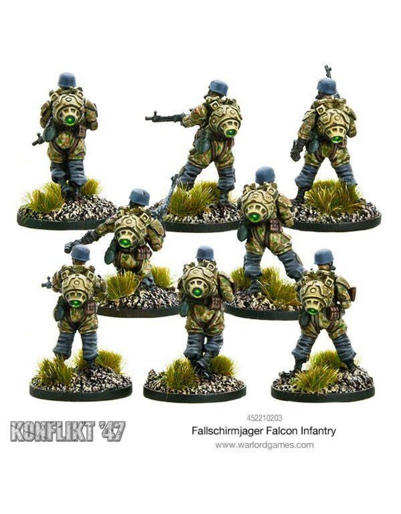 Warlord Games German Fallschirmjager Falcon Infantry