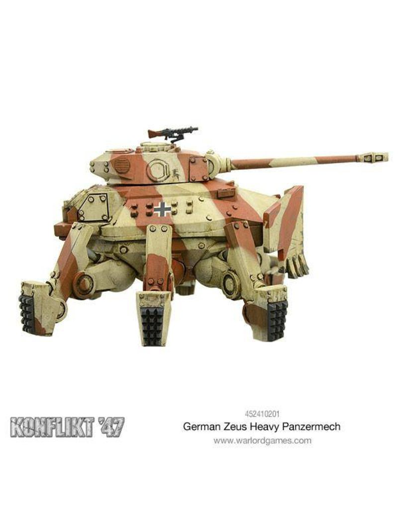 Warlord Games German Army Zeus Heavy Panzermech
