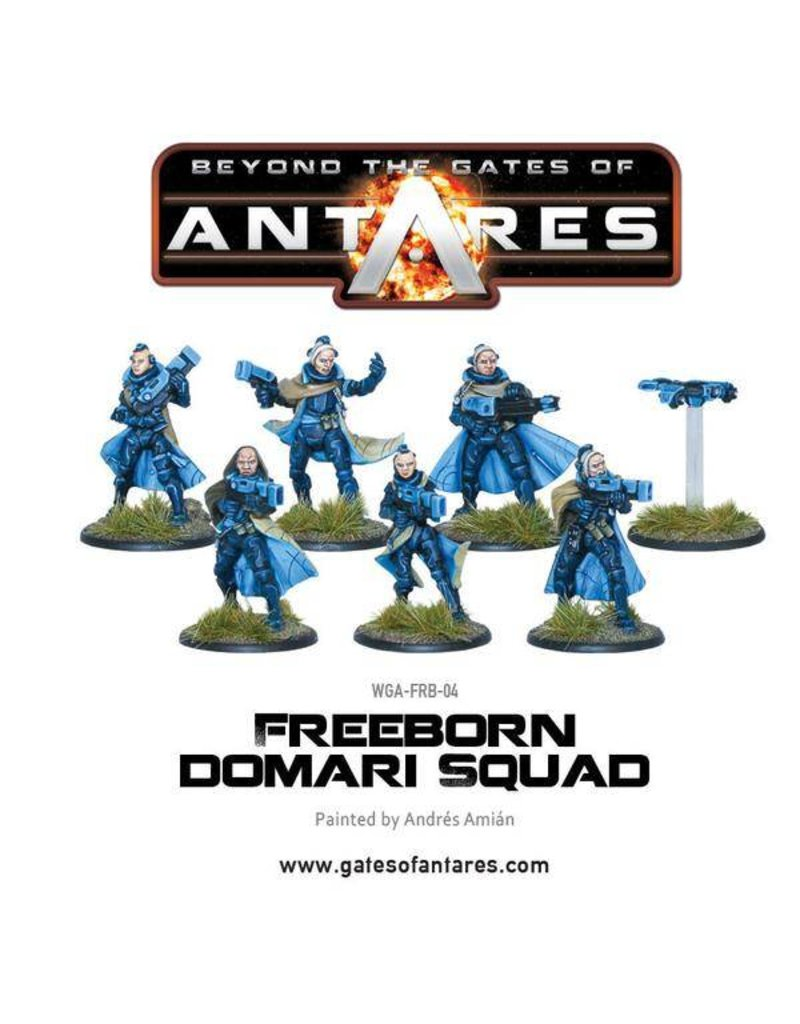 Warlord Games Freeborn Domari  Squads