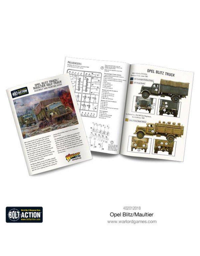 Warlord Games German Opel Blitz & Maultier