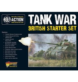 Warlord Games British Tank War starter set