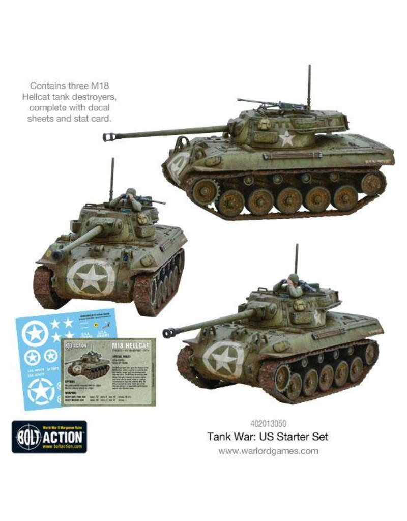 Warlord Games Tank War: US Army starter set