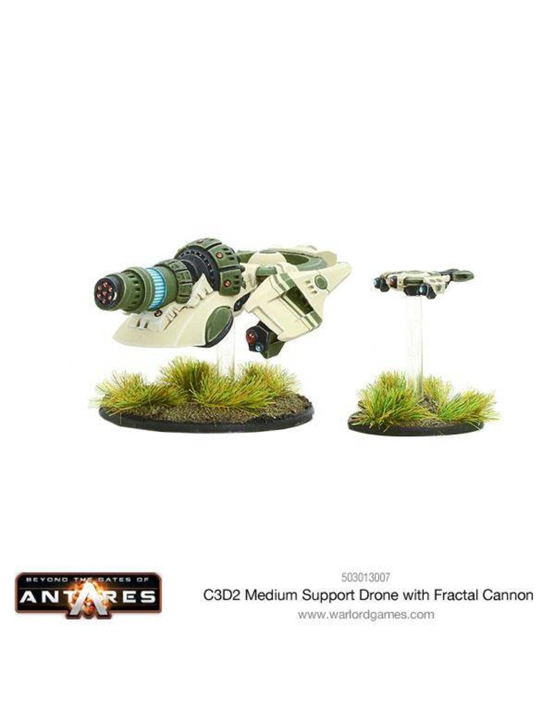 Warlord Games Concord C3D2 Medium Support Drone with Fractal Cannon