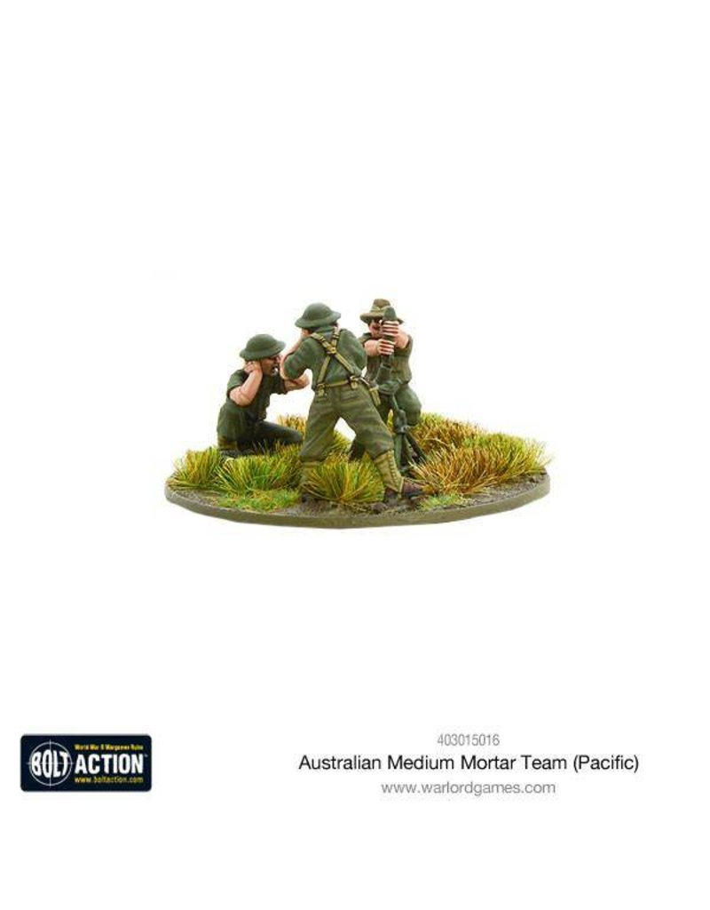 Warlord Games Allied Australian Medium Mortar Team