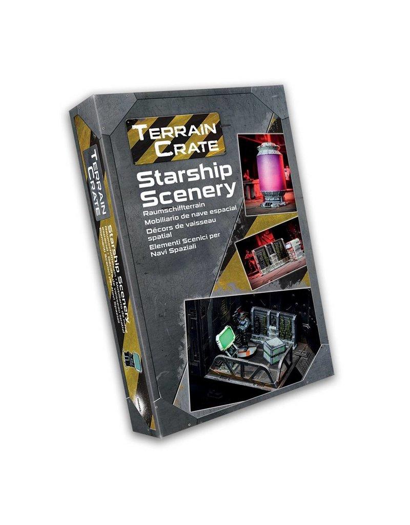 Mantic Games Terrain Crate: Starship Scenery Box