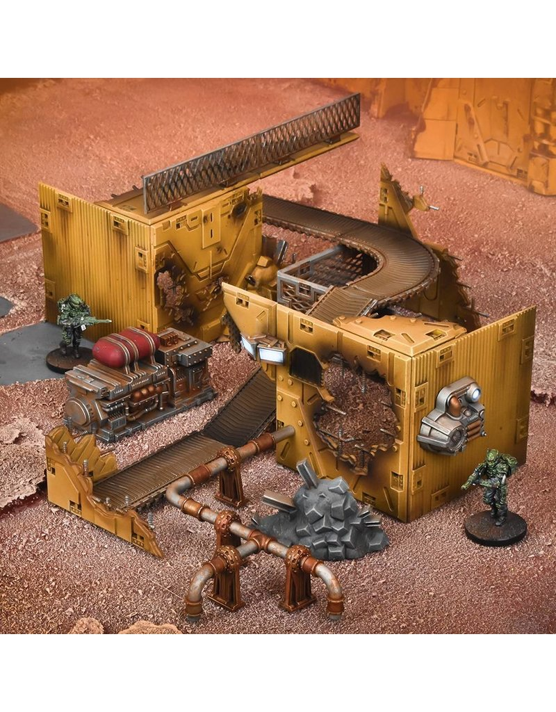 Mantic Games Terrain Crate: Forgotten Foundry Scenery Box