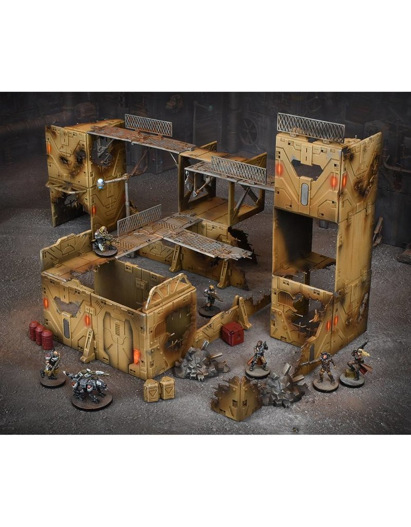 Mantic Games Terrain Crate: Gang Warzone Scenery Box