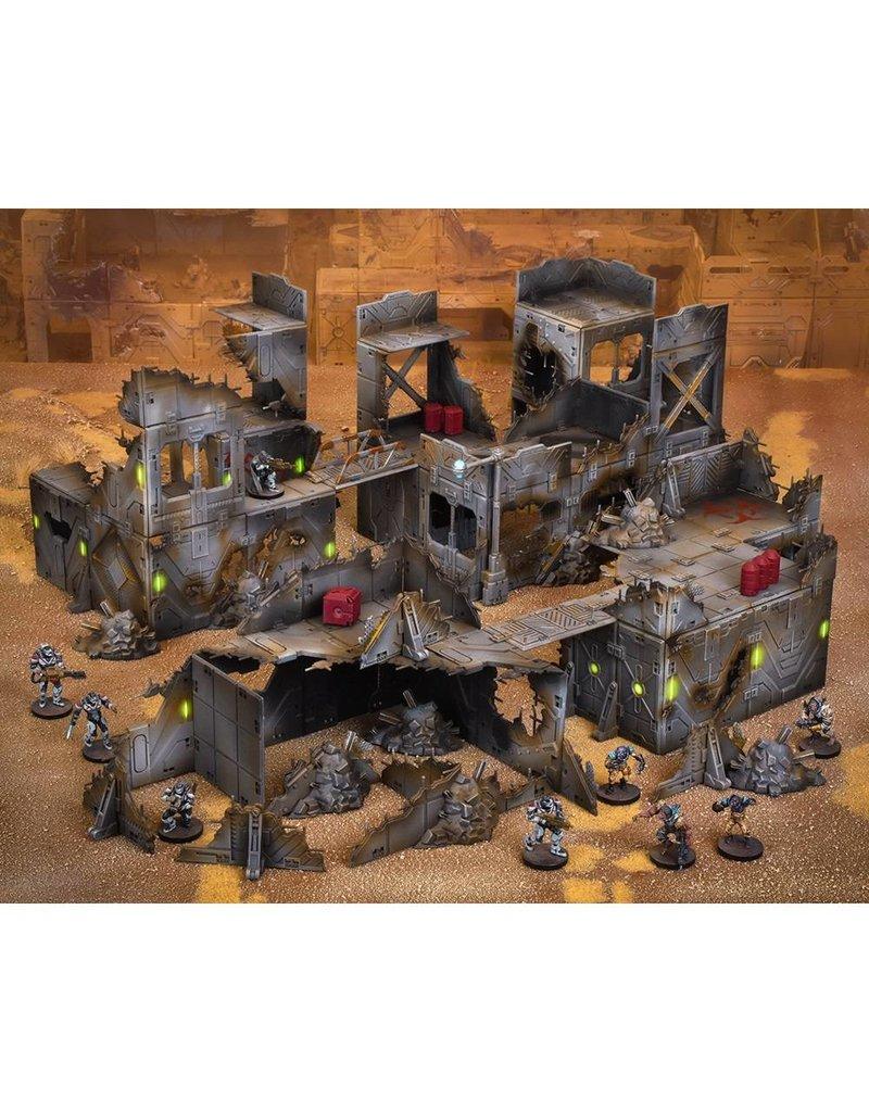 Mantic Games Terrain Crate: Ruined City Scenery Box