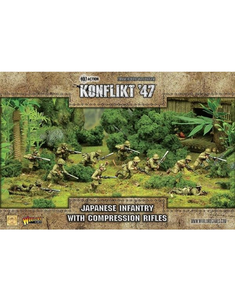 Warlord Games Imperial Japanese Infantry with Compression Rifles
