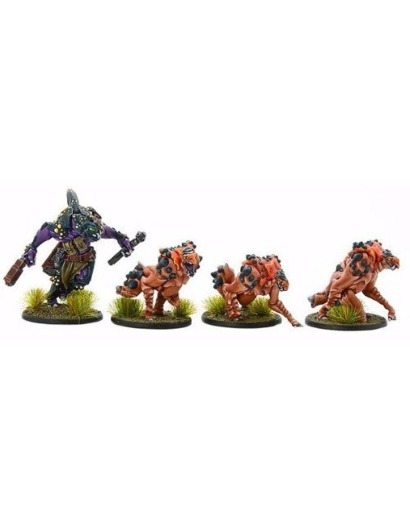 Warlord Games Mercenaries Hukk Bounty Hunter and Hunting Angkriz