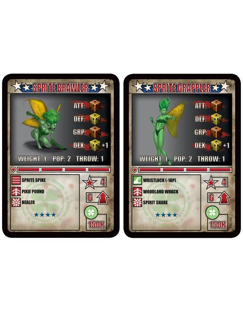 TT COMBAT The Forest Soul Sprite Brawler & Sprite Grappler