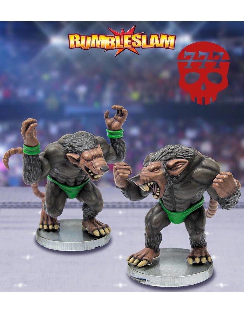 TT COMBAT The Feral Den Ratman Brawler & Ratman Grappler