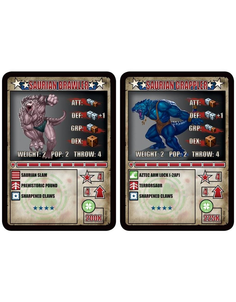 TT COMBAT The Forest Soul Saurian Brawler & Saurian Grappler