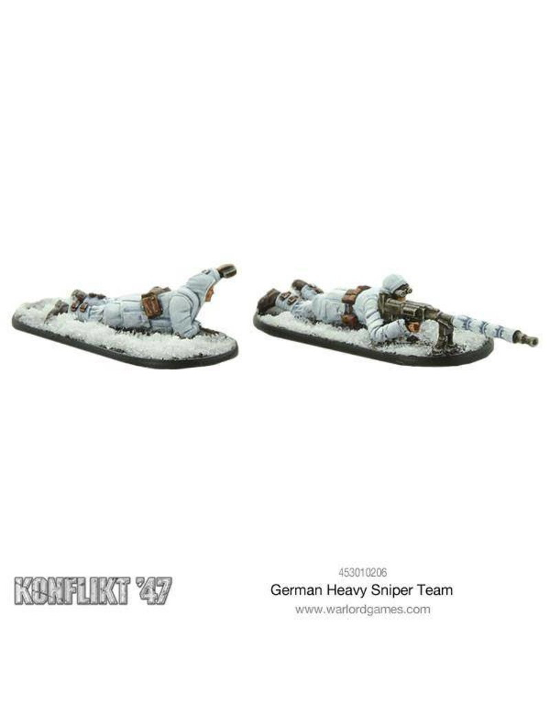 Warlord Games German K47 Heavy Sniper Team