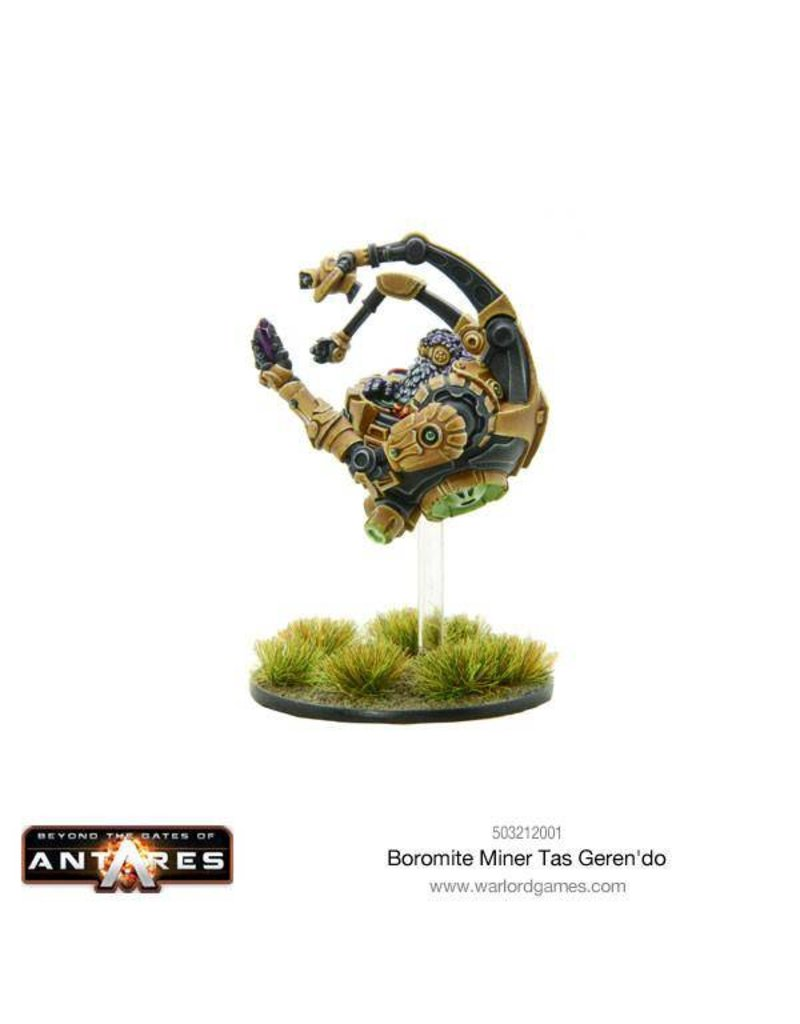 Warlord Games Boromite Miner Tas Geren'do